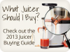 Food Matters 2014 Juicer Buying Guide