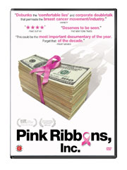 Food Matters Pink Ribbons DVD