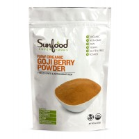 Goji Berry Powder, Raw, Organic