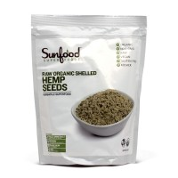 Hemp Seeds, Shelled, Organic, Raw