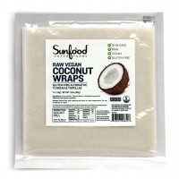 Coconut Wraps, 7/pk, 3.5oz, Raw